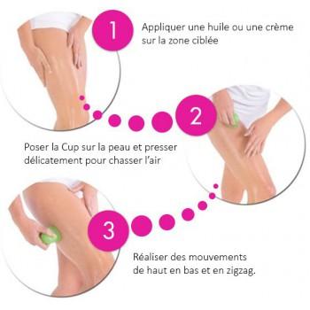 Achetez Ventouse Silicone Anti Cellulite X2 En Vente Sur